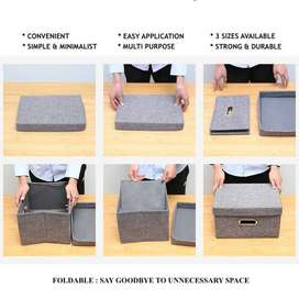 UCHII HAKO Detachable Storage Box | Kotak Penyimpanan Lipat Portable -