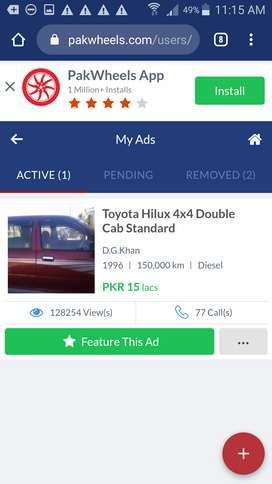 Toyota Hilux Double 1996 for sale