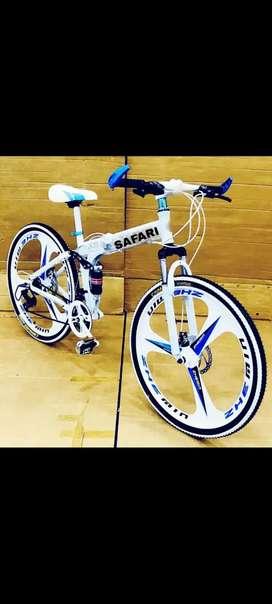SAFARI 21 GEARS MACWHEEL FOLDING BICYCLE