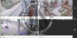 PESAN SEKARANG ! CCTV merk DAHUA 4 Chanel Bergaransi