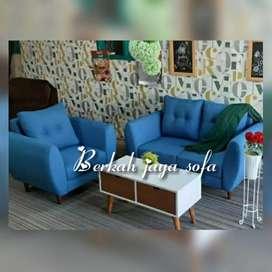 Sofa retro bludru