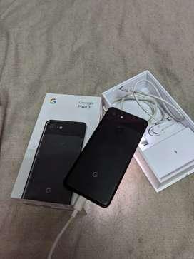 Google pixel 3 64gb . Lite black dot in corner of display