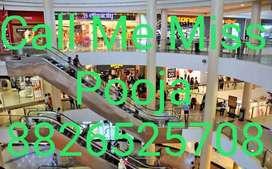 Girls And Boys urgent hiring for Vishal mega Mart shopping mall