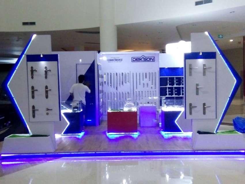 Mebel Booth Pameran dan Showcase Murah Berkualitas! 0