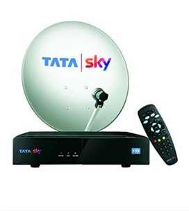 Tata Sky setup box with antenna receiver