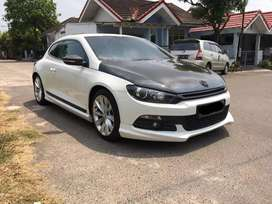 Dijual VW VolksWagen Scirocco 1.4 TSI Automatic Triptonic 2013 Putih