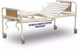 Hospital Full fowler Bed & patients items Lightweight wheelchair