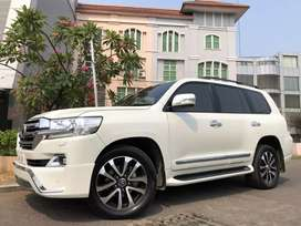 Land Cruiser 4.5 Diesel ATPM 2014 Rubah New Model 2018 White Km30rb!!