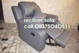Three Layer Cushioned designed Brand New Recliner with 1 year warran