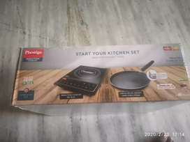 Prestige Induction cooktop 16.0+ with omega tawa dia 250mm