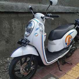 Honda Scoopy fi 2015/ mesin normal pajak hidup