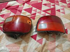 Coure Back Lights and Indicators
