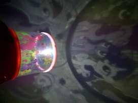 Lampu Tidur Proyektor Star Master Motif Litte Pony