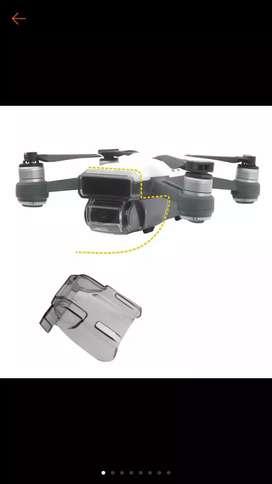 Pelindung kamera dan gimbal Dji spark camera guard lens cap dan sensor