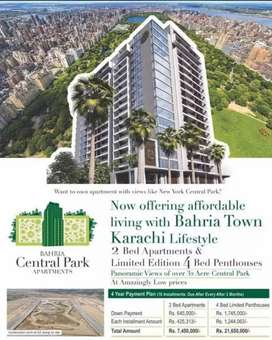 BAHRIA CENTRAL PARK APPARTMENTS IN LESS THAN MARKET PRICE