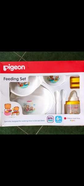Perlengkapan makan bayi pigeon new
