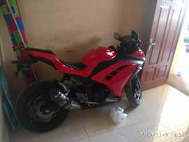 Kawasaki ninja f1 250 2 silinder low kilometer