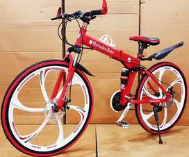 New Mercedes Benz folding Cycles with 21 Gears in Rajkot