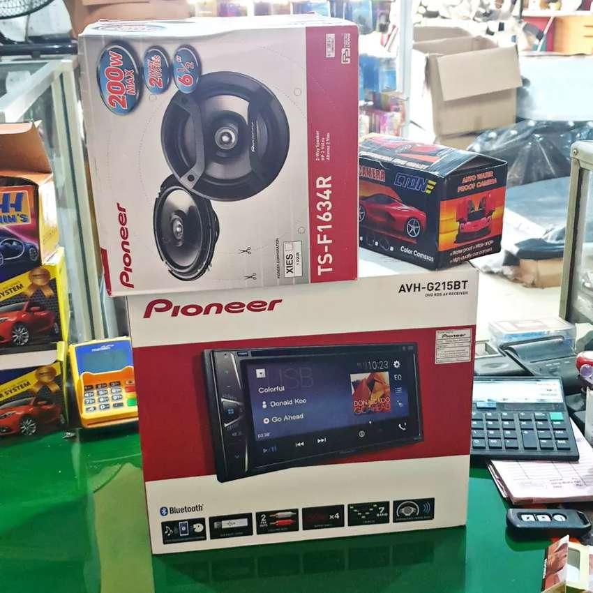 Doubledin Pioneer + Speaker + Kamera 0
