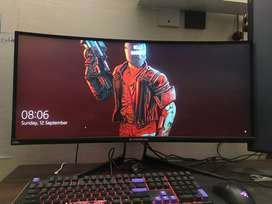 Acer X34 120hz Ultrawide monitor