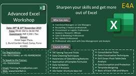 Advanced Excel Workshop in Pune on weekends