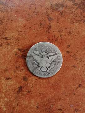 113yr old US Half Dollar Coin for sale