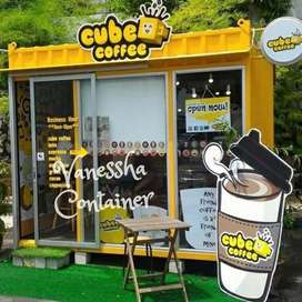 BOOTH SEMI CONTAINER / CONTAINER FOODCOURT / CONTAINER TENANT