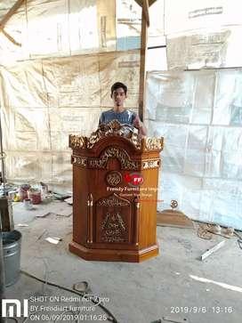 Mimbar masjid podium musola