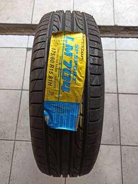 Dunlop SP Sport LM704 Size 175/60 R15 Ban Mobil Nissan March Mazda 2
