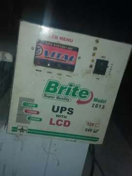 Brite ups with  batterys
