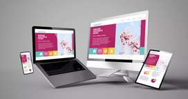 Website Designing and app Development we make static, Dynamic, and ...