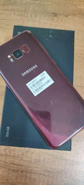 Samsung S8 - Red Colour - 100% New Condition