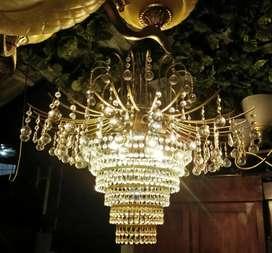 Lampu kristal dm73cm