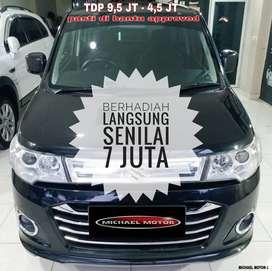 Suzuki Karimun DP4.5JT Wagon R GS MT 2016 Hitam Paket Kredit Termurah