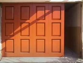 Pintu lipat garasi ruko dan toko bahan besi galvanis anti karat