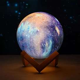 3D LED Moonlight Light Table Lamp 16 Color Changing