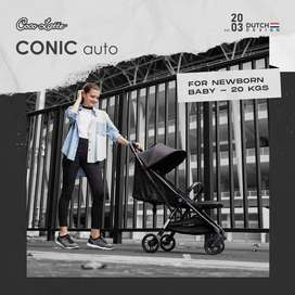 Stroller COCOLATTE CONIC/ stroller auto folding / stroller murah jogja