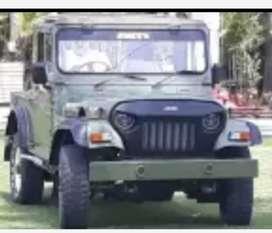 Mahindera modified jeep