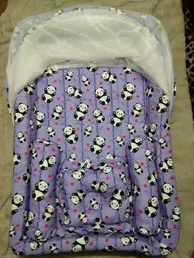 Kasur bayi kolam kelambu set bantal guling