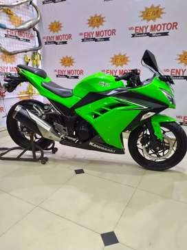 Kawasaki Ninja 250 Fi 2016 pmk 2017 hijau - ENY MOTOR