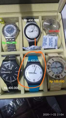Swatch preloved (bekas),bukan expedition , Seiko , casio , fossil