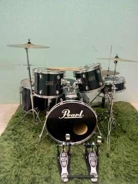 Jual drum pearl series double pedal