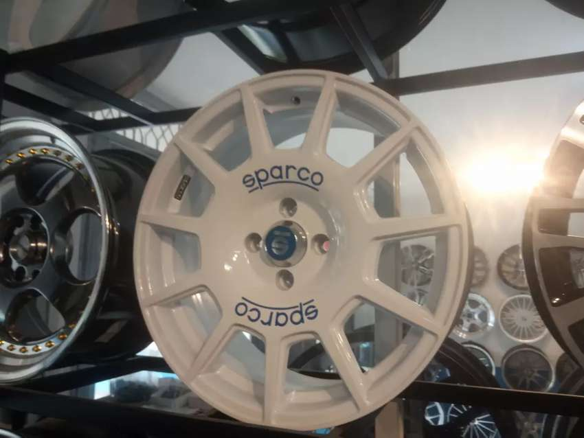 VELG RACING SPARCO ,SIZE 17×7,5 H4×100 FOR ,CALYA,SIGRA,DLL 0