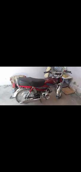 i want to sale honda 70 new applied for non axident only 5666km runing