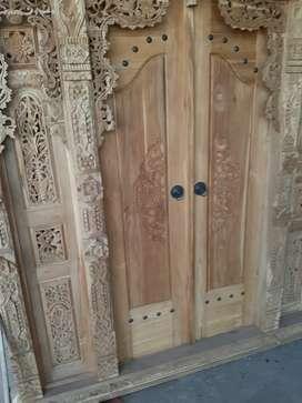 kusminah cuci gudang pintu gebyok gapuro jendela rumah masjid musholla