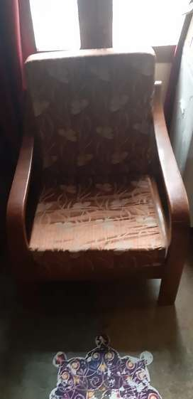 Sofaset three  seater sofaset with sofa chair