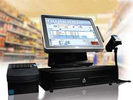 Retail Inventory Billing Software Point of Sales Bar Code POS Hardware
