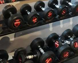 Gym dumbbell manufacturing