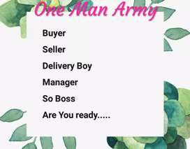 Job Vacancy Buyer, Seller, Delivery Boy, Manager , Boss