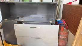 Modular kitchen cabinet made by RAK interiors kochi 2013